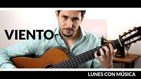 Lunes con música de Pablo Romero Luis