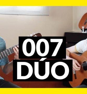 Miniatura del tutorial de 007 James Bond para dúo de guitarras