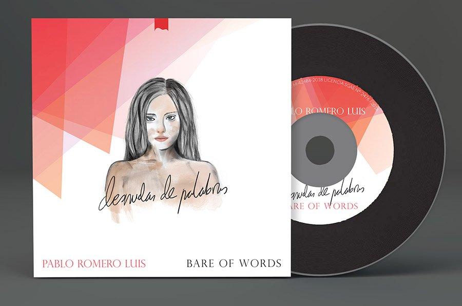 CD Desnudas de palabras. Tercer disco de Pablo Romero Luis.