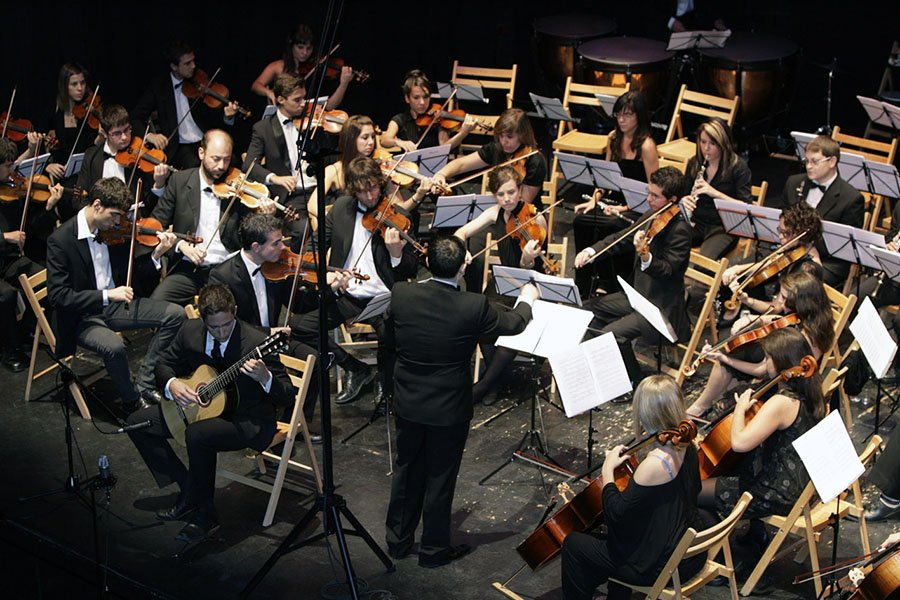 Pablo Romero Luis concierto con orquesta