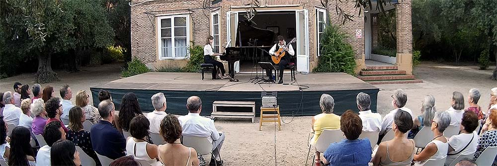 Dos solistas, dos orquestas en el marco del festival de verano de la Fundación Olivar de Castillejo