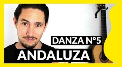 Miniatura Danza 5 Granados Andaluza tutorial guitarra