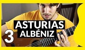 Imagen del tutorial de Asturias de Albéniz en la web de Pablo Romero Luis