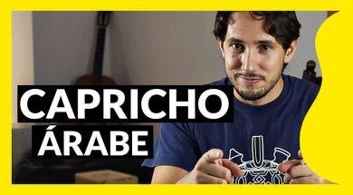 Capricho árabe, tutorial de guitarra de Pablo Romero Luis
