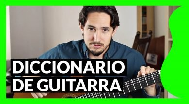 Diccionario de guitarra de Pablo Romero Luis