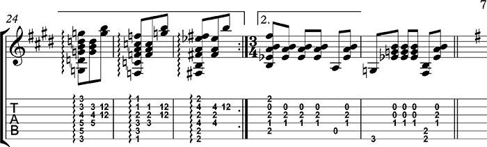 Tercera parte del preludio 1 de villalobos tutorial para guitarra