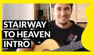 Miniatura del tutorial de Stairway to heaven para guitarra clásica