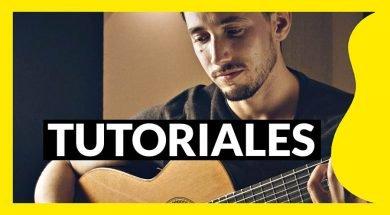 Tutoriales de guitarra de Pablo Romero Luis