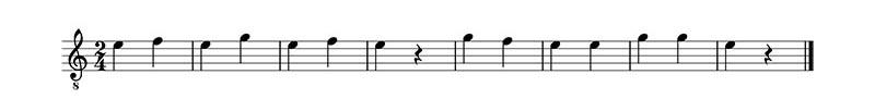 Deberes cuerda 1 en guitarra