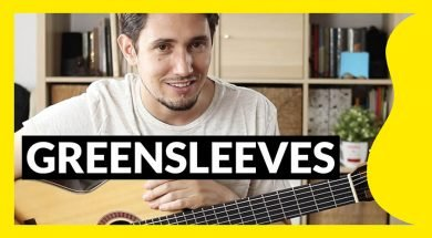 Miniatura del tutorial de Greensleeves guitarra