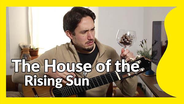 tutorial house rising sun
