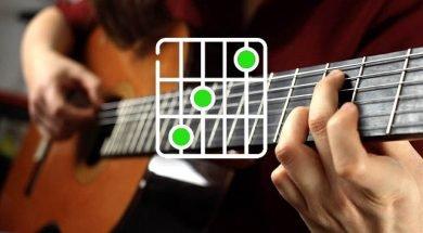 Curso de acordes de guitarra.