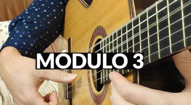 Curso de iniciación a la guitarra - módulo 3