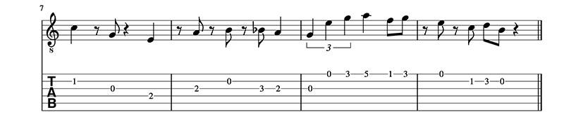Vídeo Tutorial de Super Mario Bross - Guitarrista en un día - Tutoriales de guitarra desde cero. Guitarra fácil. Principiantes- 2/6