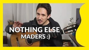 Nothing Else Matters Tutorial Guitarra
