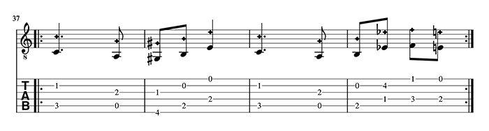 variación 3 tutorial capricho de paganini en guitarra