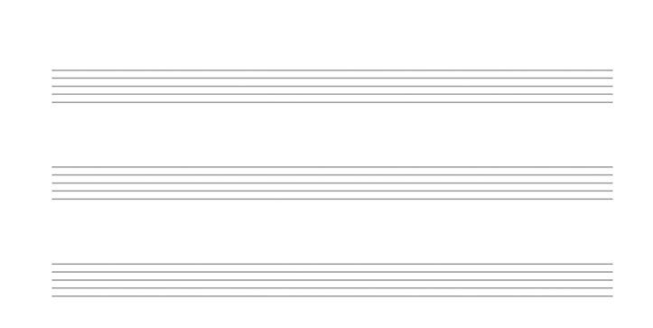Plantilla papel pautado gartis. Descarga papel musica para escribir. Cinco líneas. 5 lineas