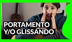 Portamento y/o glissando Diccionario de guitarra