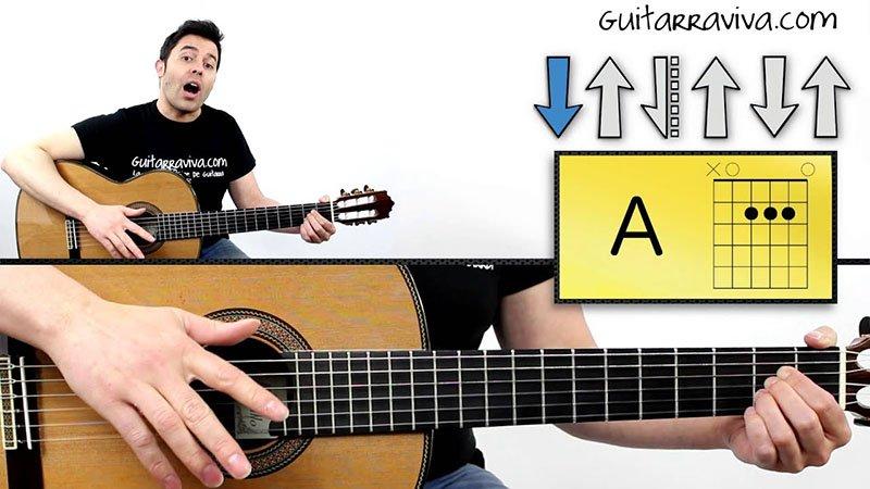 Arriba y abajo en guitarra - Carlos Asensio Guitarraviva
