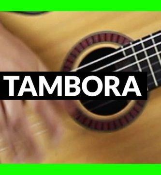 Tambora en guitarra, qué es y cómo se toca.