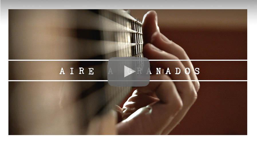 Vídeo de Aire a Granados de Pablo Romero Luis